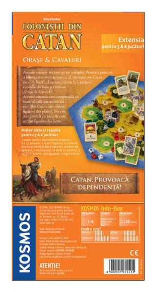 Colonistii din Catan - Orase si cavaleri (extensie 5-6 jucatori) 1