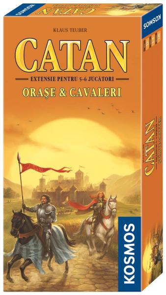 Colonistii din Catan - Orase si cavaleri (extensie 5-6 jucatori) 0