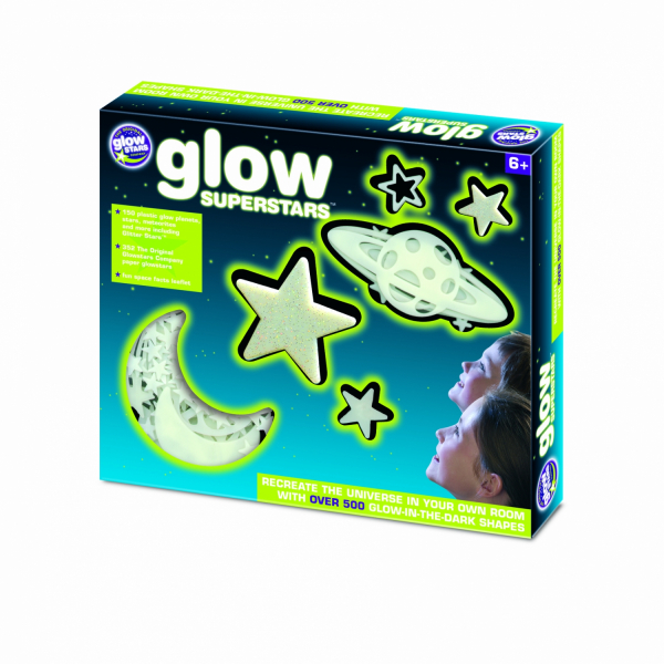 Corpuri ceresti din univers fosforescente The Original Glowstars Company B8800 [0]