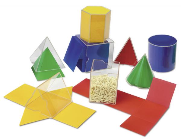 Corpuri geometrice din plastic - 10 piese [2]
