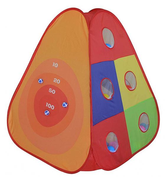 Cort de joaca cu 30 bile Bullseye [0]