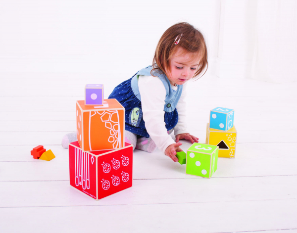 Cuburi colorate pastel 6
