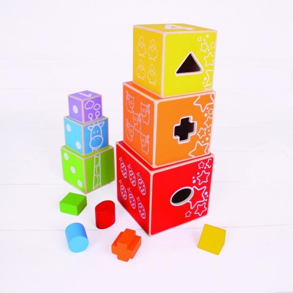 Cuburi colorate pastel 2