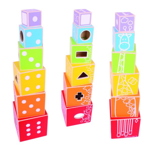 Cuburi colorate pastel 0