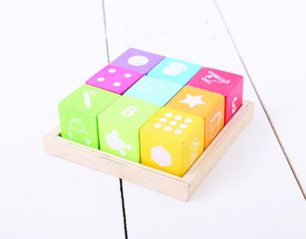 Cuburi din lemn cu imagini 2