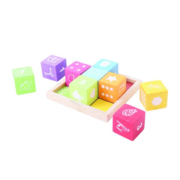 Cuburi din lemn cu imagini 1
