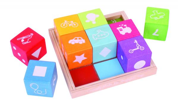 Cuburi din lemn cu imagini 0