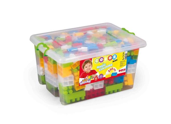 Cutie depozitare cu 230 de cuburi 0