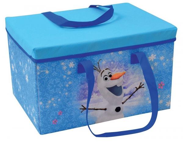 Cutie pentru depozitare jucarii transformabila Elsa si Anna 0