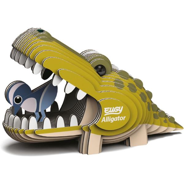 DIY Animale 3D Eugy Aligator Brainstorm Toys D5009 2
