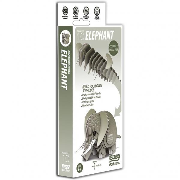 DIY Animale 3D Eugy Elefant Brainstorm Toys D5002 6