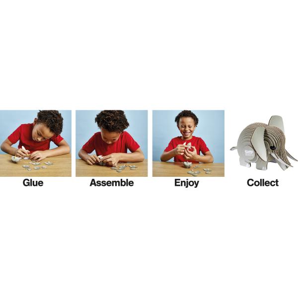 DIY Animale 3D Eugy Elefant Brainstorm Toys D5002 3