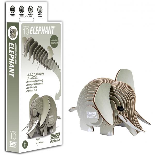 DIY Animale 3D Eugy Elefant Brainstorm Toys D5002 0