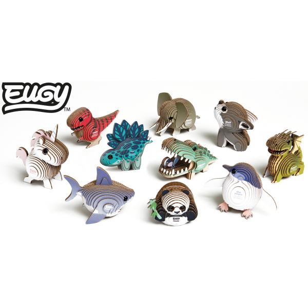 DIY Animale 3D Eugy Lup Brainstorm Toys D5008 5
