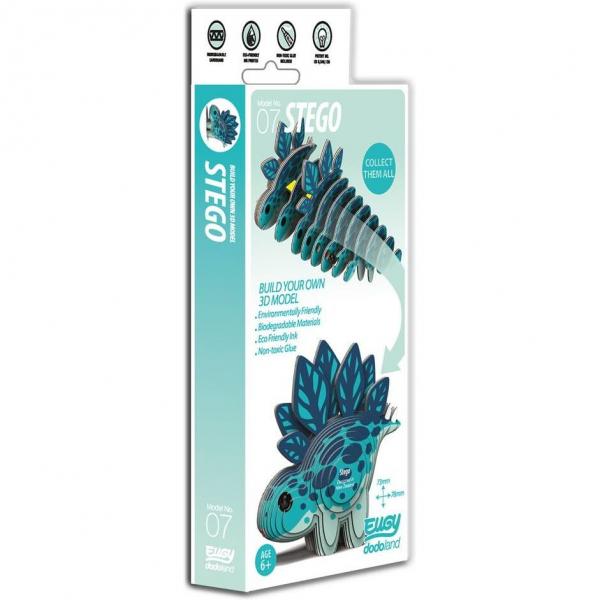 DIY Animale 3D Eugy Stego Brainstorm Toys D5001 2