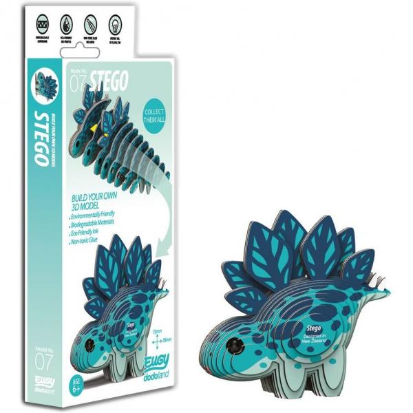 DIY Animale 3D Eugy Stego Brainstorm Toys D5001 0