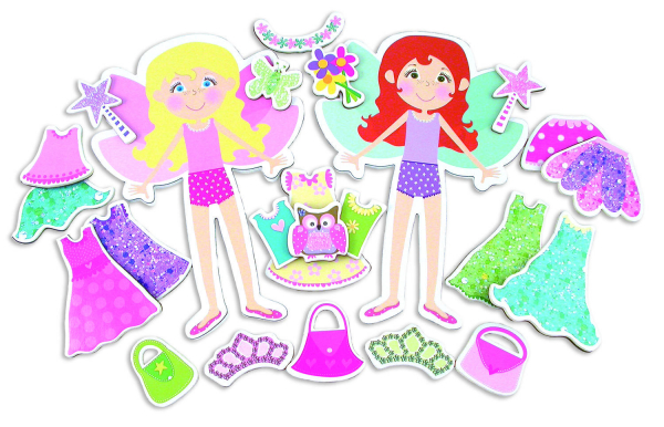 Fairy Friends: Set de creatie Zane magnetice 1