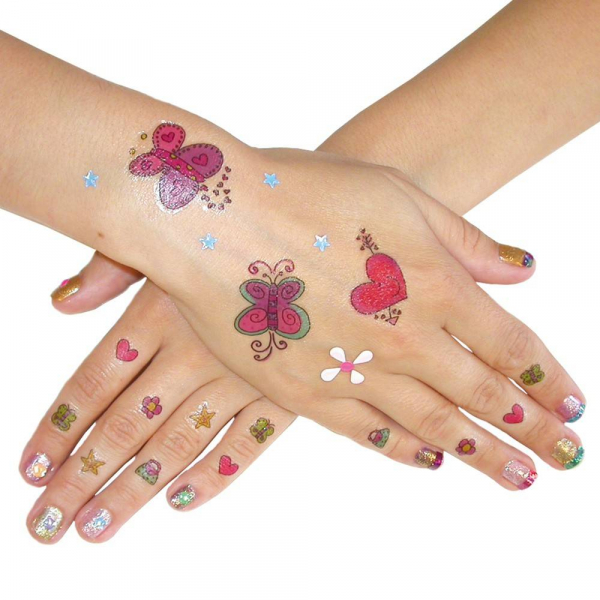 Fantastic Fashion: Set unghii artistice Nail Art 1
