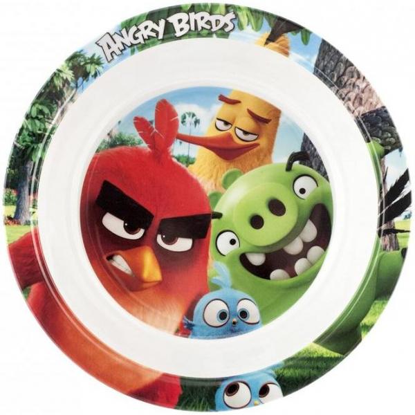 Farfurie adanca melamina Angry Birds Lulabi 8161502 0