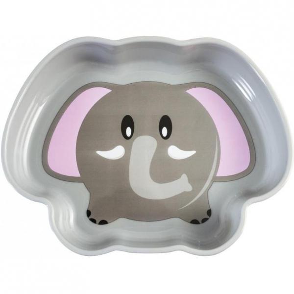Farfurie adanca plastic Elefant Lulabi 7972902 0