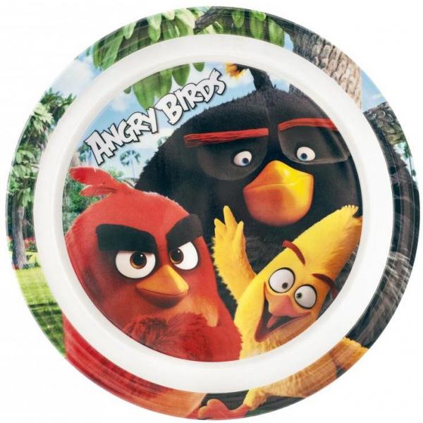 Farfurie melamina Angry Birds Lulabi 8161501 0