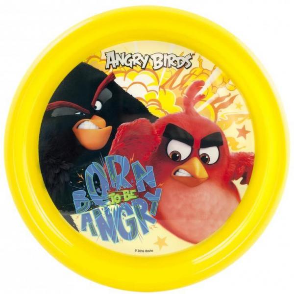 Farfurie plastic Angry Birds Lulabi 8161001 0