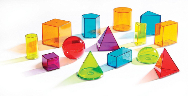 Forme geometrice colorate 1