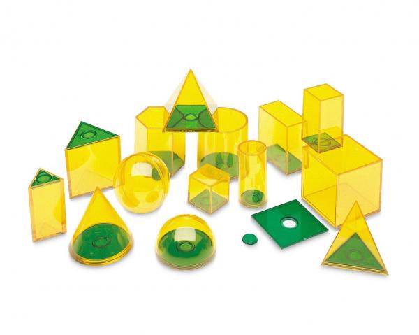 Forme geometrice GeoSolids - 14 piese 1