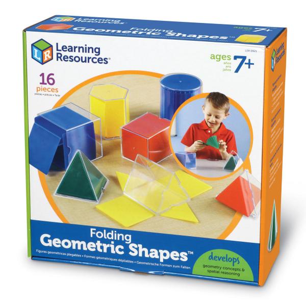 Forme geometrice pliante - 16 piese 4
