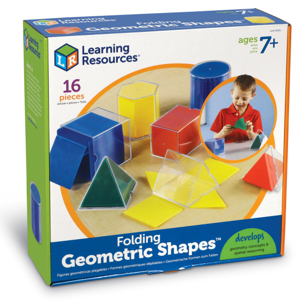 Forme geometrice pliante - 16 piese 5