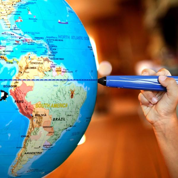 Geosafari - Glob pamantesc interactiv 2