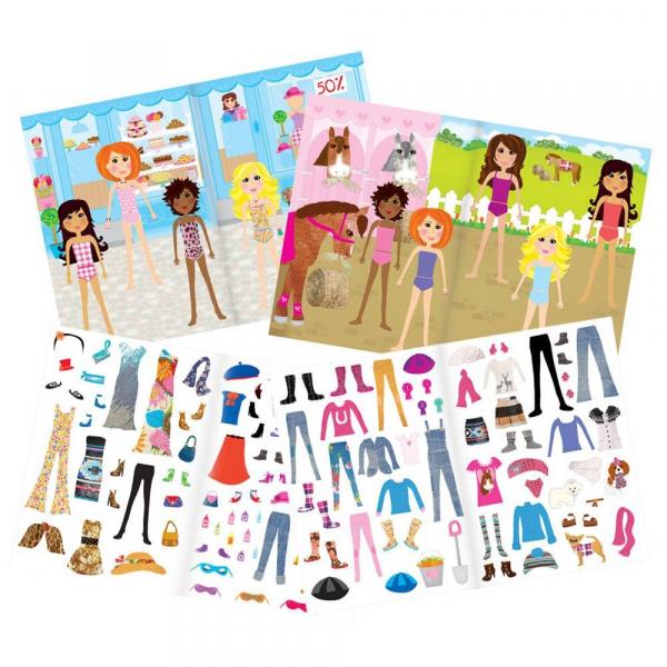 Girl club - Carte abtibilduri Fashion 0