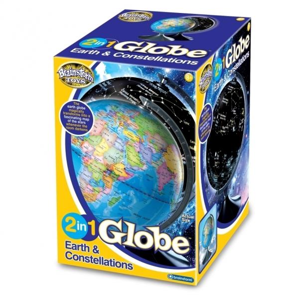 Glob 2 in 1 Pamantul si constelatiile Brainstorm Toys E2001 [1]