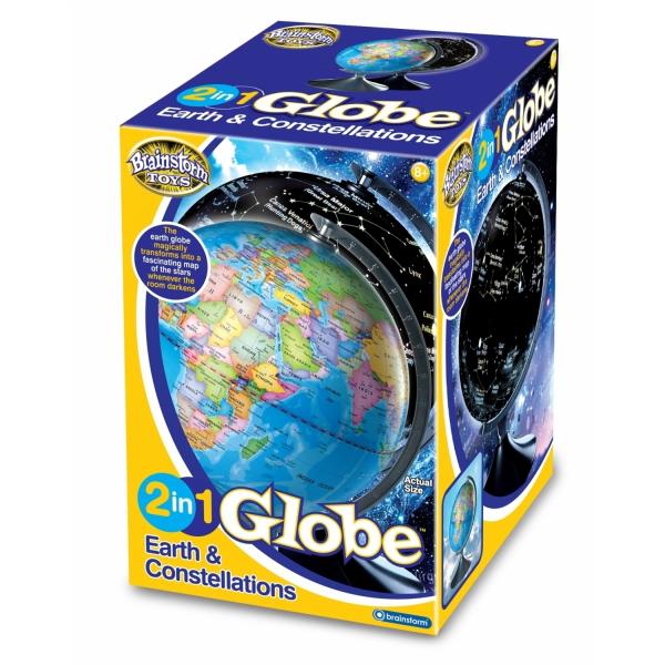 Glob 2 in 1 Pamantul si constelatiile Brainstorm Toys E2001 [2]