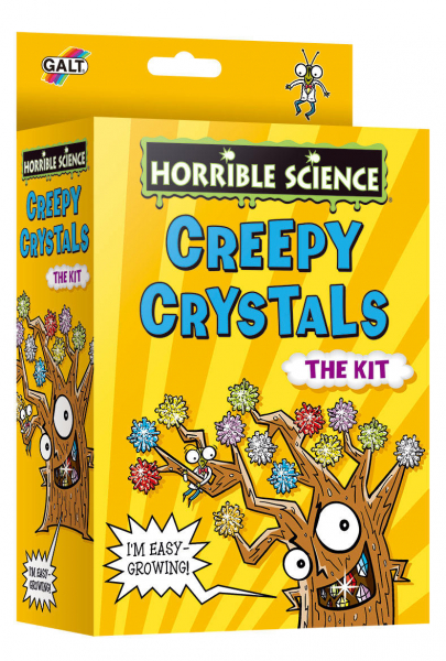 Horrible Science: Cristale ciudate 3