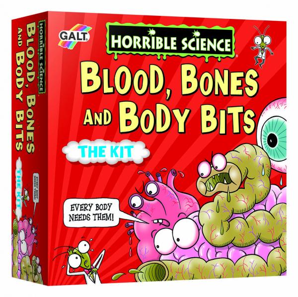 Horrible Science: Experimente cu corpul uman 0