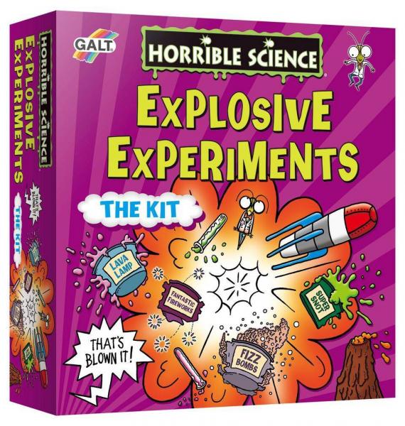Horrible Science: Kit experimente explozive 0