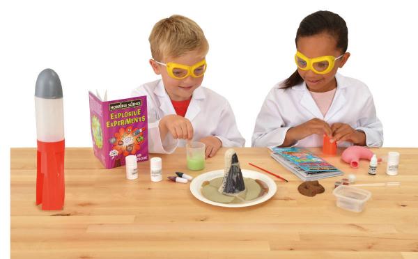 Horrible Science: Kit experimente explozive 2
