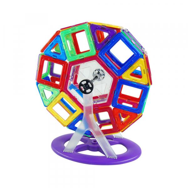 Joc de constructie magnetic - 118 piese 2