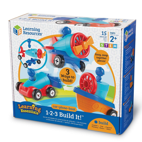 Joc de indemanare - 1, 2, 3  Hai sa construim 9