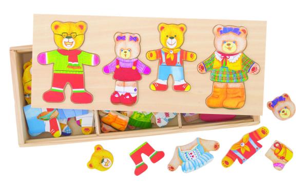Joc de potrivire - Familia ursuletilor 1