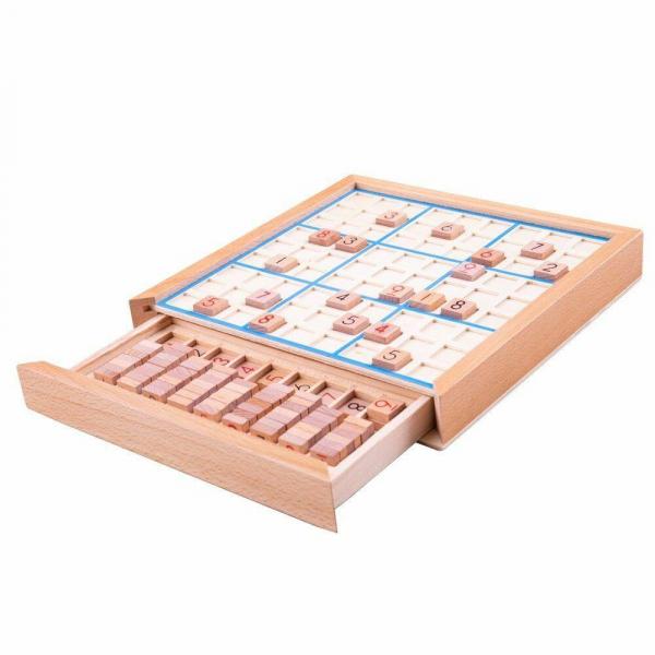 Joc din lemn - Sudoku 1