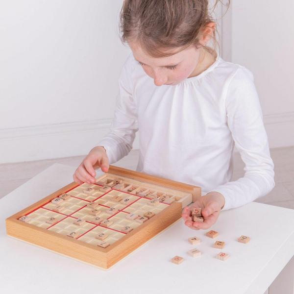 Joc din lemn - Sudoku 2