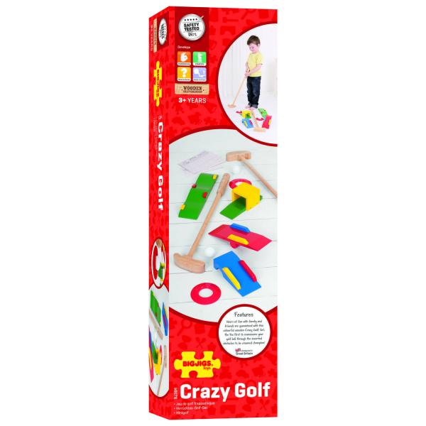 Joc golf din lemn 1