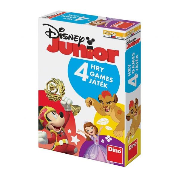 Joc interactiv 4 in 1 -Disney Junior 0