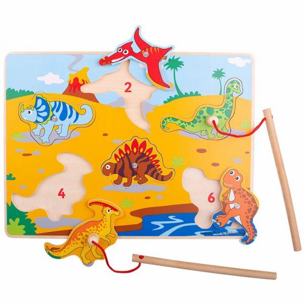 Joc magnetic - Dinozaurii fiorosi 0