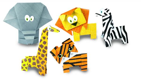 Joc Origami - Animalute salbatice 0