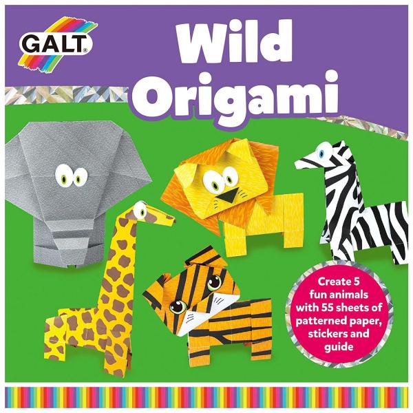 Joc Origami - Animalute salbatice 6
