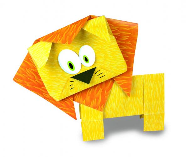 Joc Origami - Animalute salbatice 3