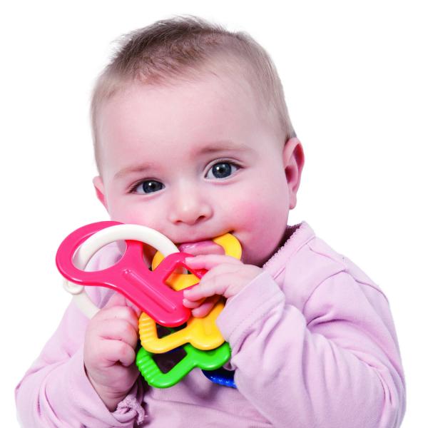 Jucarie dentitie - Cheite colorate 1